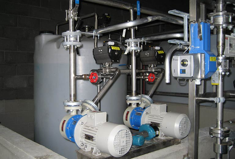 Chemical dilution system